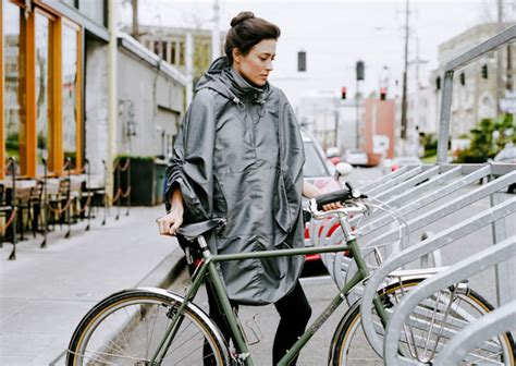 rain jacket for bike riding bike rain cape a cup of jo