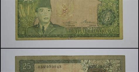 Seri Soekarno sentra uang kuno seri soekarno 1960