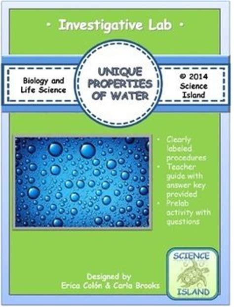 properties of water adhesion biology chemistry cohesion en
