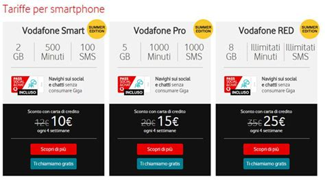 promozioni vodafone mobile vodafone estate 2017 ecco le promo mobile e telefonia