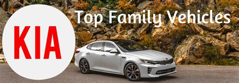 kia vehicles list kia optima and soul made 10 best family cars of 2016 list