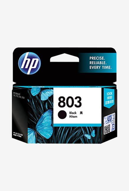 Hp 803 F6v21aa Cartridge Black hp 803 multi color ink magenta cyan yellow best price in