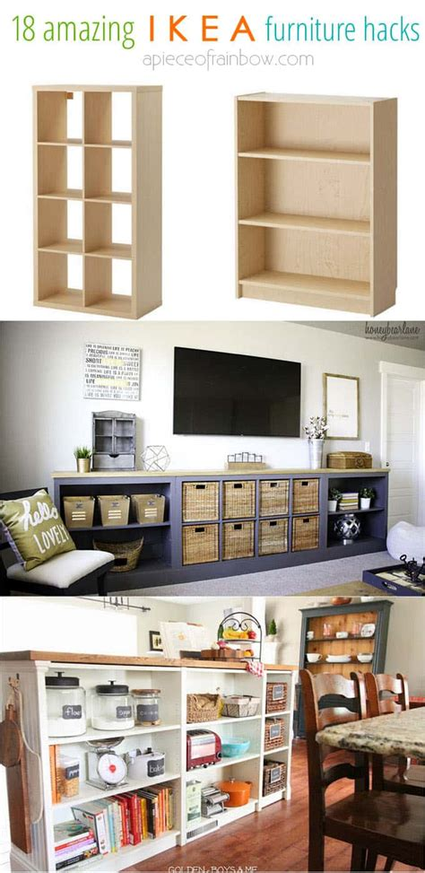 ikea tv cabinet hack easy custom furniture with 18 amazing ikea hacks page 3
