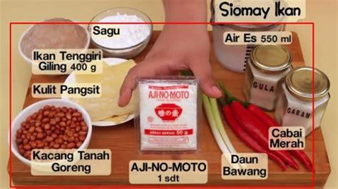 cara membuat roti goreng ala dapur umami cara membuat siomay ikan ala dapur umami muhammad idham
