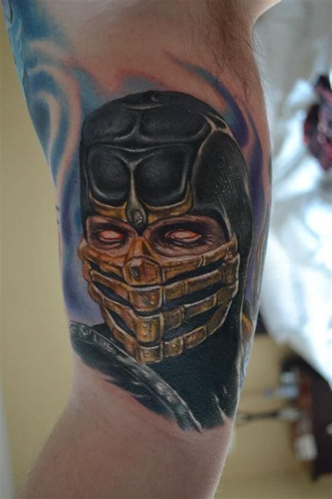 sub zero tattoo 17 best images about mortal kombat tattoos on