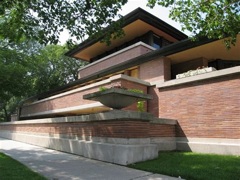 Frank Lloyd Wright Prairie Style House Plans Robie House Frank Lloyd Wright Chicago United States
