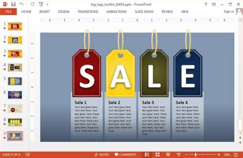 sale presentation template animated sales powerpoint