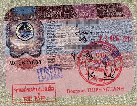 visa policy  laos wikipedia