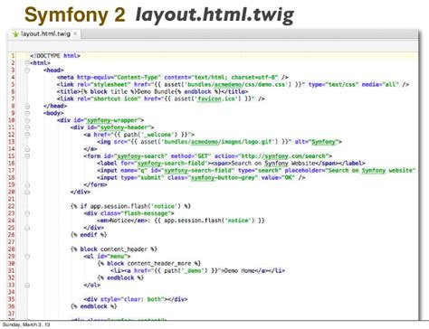 layout it symfony symfony2 and mongodb midwestphp 2013