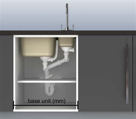 kitchen sink base units what is minimum base unit cabinet size when purchasing a