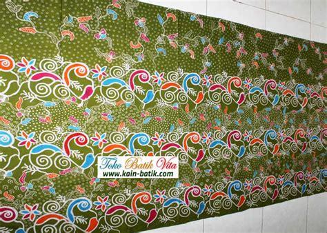 Kain Batik Madura Motif Mutiara Ungu batik madura unik kbm 5734 kain batik murah