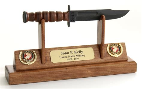 ka bar display usmc kabar knife letter opener display