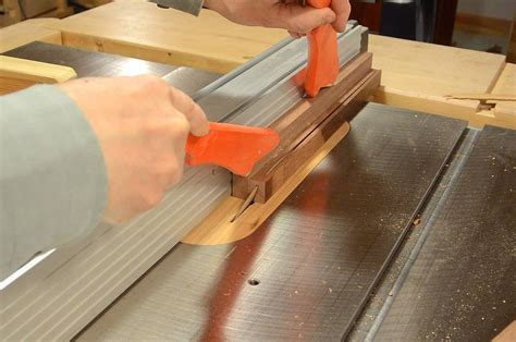 Make Drawer Pulls by Drawer Pulls On The Tables Saw
