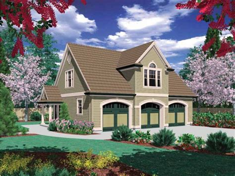 Apartments Over Garages Floor Plan by Eplans Garage Plan Two Bedroom Guest Suite Over 3 Car