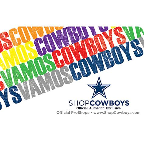 Gift Card Spanish - other accessories accessories cowboys catalog dallas cowboys pro shop