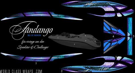 sea doo jet boat graphics seadoo boat graphics fandango blue moon