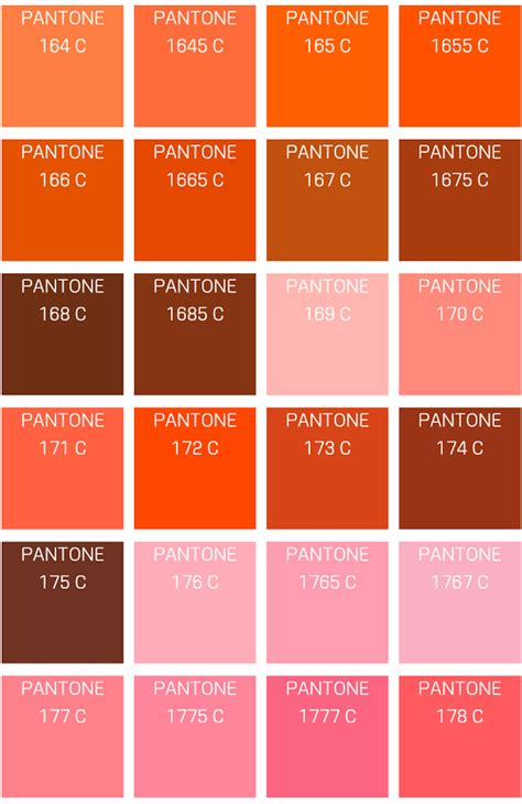 orange shades names pantone color info app ranking and store data app annie