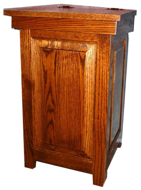 wooden kitchen garbage cans large wooden kitchen garbage can myideasbedroom