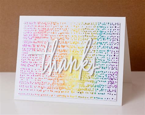 how to make watercolor cards using distress inks as watercolors free thank you card