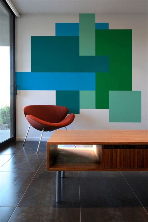7 Colour Blocking Tips by Color Blocking Wall Decals By Mina Javid For Blik