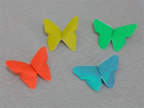 How To Make A Paper Butterfly For - free coloring pages origami how to make a paper