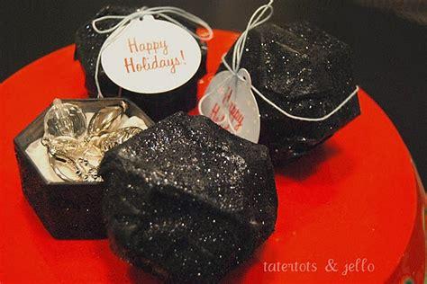 make lump of coal gift boxes holidays christmas gifts