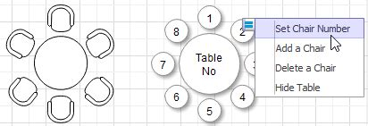symbols for floor plan tables and chairs table plan software