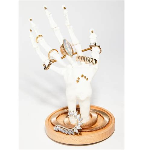 tattoo hand jewellery holder skeleton hand jewelry holder dolls kill