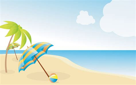 wallpaper cartoon beach summer beach wallpapers x free images at clker com