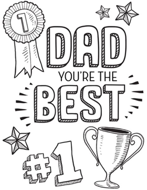 father s day poems quotes coloring pages coupon books