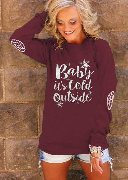 baby it s baby it s cold outside sweatshirt fairyseason