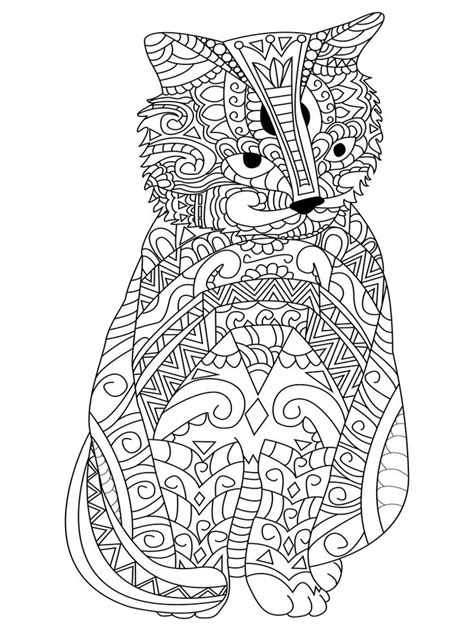 balance anti stress coloring zentangle balance and stress relief coloring book for adults 627 best images about colouring cats dogs