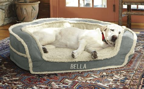 oversized dog bed large dog bed oversized horseshoe bolster dog bed with