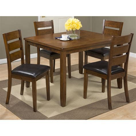 jofran  plantation dining table  chairs set