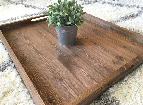 wooden trays for ottomans rustic wooden ottoman tray ottoman tray wooden tray