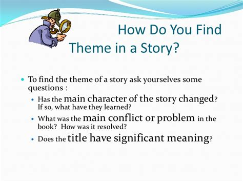 finding theme in literature video theme used in literature
