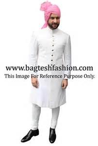 saif ali khan in white sherwani white