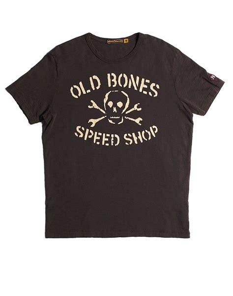 T Shirt Luck Black lucky brand johnson motors bones tshirt in black for