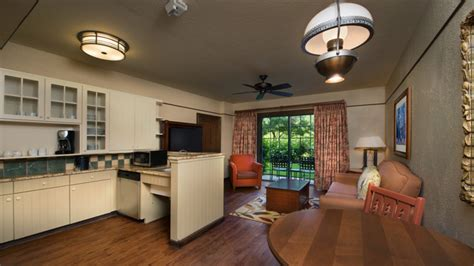 1 Bedroom Villa Rooms Points The Villas At Disney S Wilderness Lodge