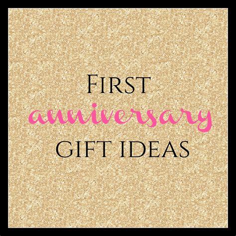 first anniversary gift ideas burgh brides