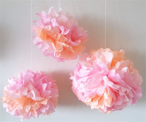 Crafts To Make With Tissue Paper - how to make tissue paper flowers craft tutorial s s