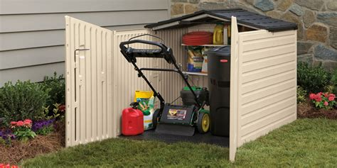Rubbermaid Slide Top Storage Shed by Slide Lid Shed By Rubbermaid Poolspas Capoolspas Ca