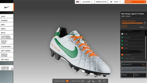 nike id football shoes nike id makes the tiempo legend iv available football