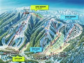 southern california ski resorts map mountain high resort trail map ski snowboard escape2ski
