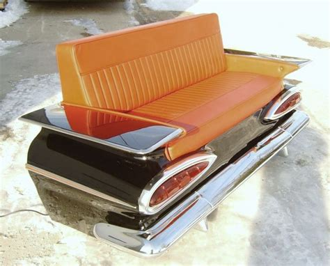 truck couch 59 chevy impala car couch cars