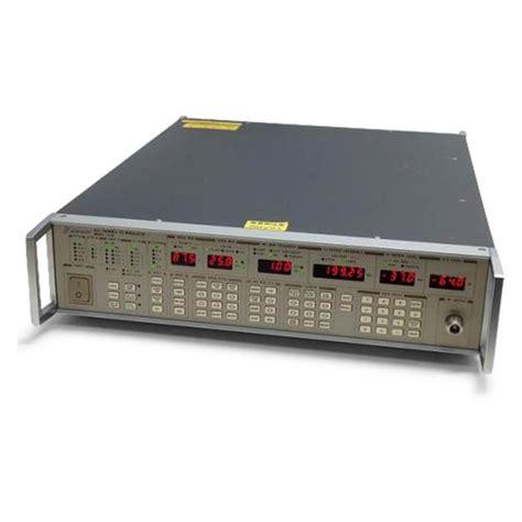 Modulator 022 Player 営電 計測器検索 計測器 techeyesonline