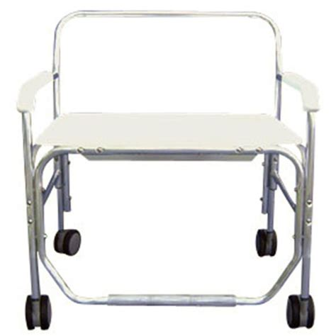 heavy duty shower commode chair without commode opening