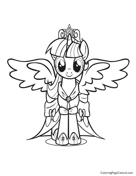 mlp coloring pages princess twilight my little pony princess twilight sparkle 01 coloring