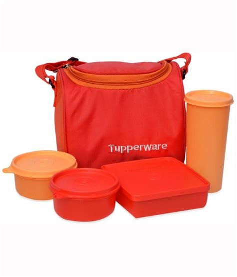 1000 Images About Tupperware tupperware 1000 ml lunch box set buy at best price in india snapdeal