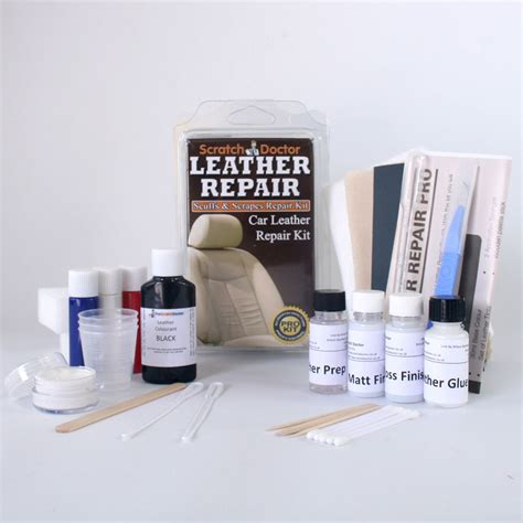 couch repair kit black leather repair kit sofa chair burns scuffs holes ebay
